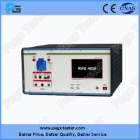 Buy cheap Ring Wave Surge Generator with 7 inch LCD touch screen and software mets IEC61000-4-12 standard from wholesalers