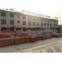 Wholesale OD 32 x 2.00mm temporary fencing panels 42 microns ,14 microns ,4.00mm wire 2100mm x 2400mm temporary fencing for sale from china suppliers