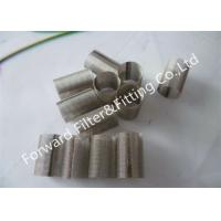 Wholesale 304 / 304L / 316 / 316L Stainless Steel Wire Mesh Filter With Cold Galvanized from china suppliers