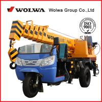 Wholesale 3 ton tricycle crane from china suppliers