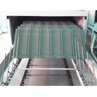 Wholesale Water Proof Stone Coated Roof Tile Machine / Equipment With Pressing System from china suppliers