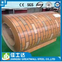 Wholesale Brick Grain Ppgi Steel Roofing Sheets / Prepainted Galvanized Steel Coil from china suppliers