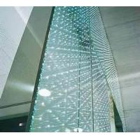 Wholesale 190 x 190 x 80mm structural glass curtain wall brick for residential, bars from china suppliers