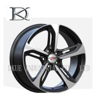 Quality 18 Inch Custom Wheels Car Rims Personalized Private Sliver Machined Face for sale