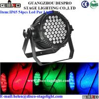 Wholesale Outdoor IP65 LED Par Can Lights RGBW DMX 512 LED Effect Light For Studio from china suppliers