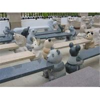 Wholesale Different Animal Carving Stone Bench, Exquisite Granite Stone Sculpture from china suppliers