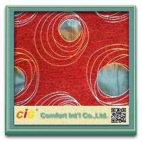 Quality Colorful Chenille Fabric for Sofas / Chairs Sofa Upholstery Fabric for sale