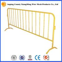 Wholesale Classic Galvanized or Powder Coat Crowd Control Barrier Fence Temproary Fence from china suppliers