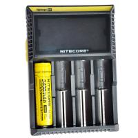 Nitecore D4  flashlight battery charger, EU/US Plug Intelligent Battery Charger