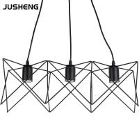 Wholesale Iron art Black classical indoor pendant lamp E27  CE certificatiion (DL30027B) from china suppliers