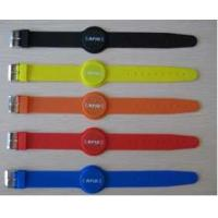 Quality RFID wrist watch style soft silicone wristbands, NFC wrist watch buckle soft silicone wristbands, adjustable wristbands for sale