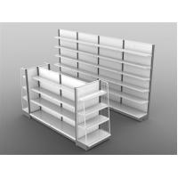 Wholesale Custom Steel Store Display Fixtures Shelves For Convenience Stores / Grocery Store from china suppliers
