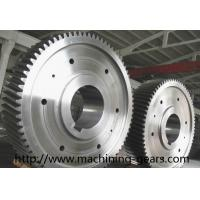 Wholesale Large Diameter Gears Construction Machinery Parts External Spur Gear from china suppliers