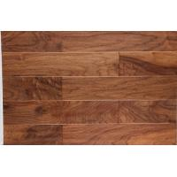 Quality American Walnut Engineered Wood Flooring, American popular color stain walnut floors, handscraped surface for sale