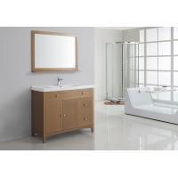 Wholesale Simple Modern 40 Inches MDF Bathroom Cabinet Acrylic - Resin Integrated Sink from china suppliers