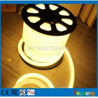 Wholesale 25meter spool 12V DC 360 degree round warm white led flex neon lights for letter from china suppliers