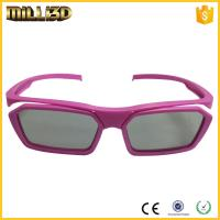 Wholesale cheap circular polarized film reald 3d glasses  suitable for cinema from china suppliers