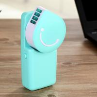 Wholesale NEW Mini Rechargeable Portable LED Handy USB Air Conditioner Cooling Fan GK-F02 from china suppliers