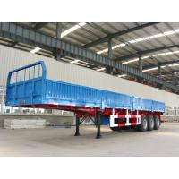 Wholesale 3 axle detachable side wall cargo trailer trucks for sale - CIMC from china suppliers
