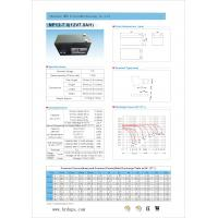 China High Energy Density Rechargeable Lead Acid Batteries With Long Service Lifespan on sale