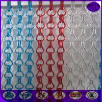Wholesale Hanging Double Hooks aluminum Striple Chain Fly Screen For Door Curtain from china suppliers