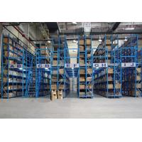 Wholesale 150KG - 600KG Manual operation mezzanine floors with shelves racks from china suppliers