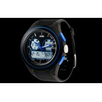 Wholesale Rubber Multifunction Sport Watch Unisex Shockproof Analog Digital Watch from china suppliers