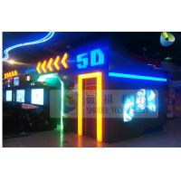 Wholesale Cinema Equipment 5D Simulator 5D Motion Cinema Motion Seat Theater Simulator from china suppliers