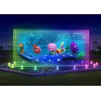 Wholesale Lively Water Projection Screen Custom Size Water Screen Movie Cast Iron Water Pump from china suppliers