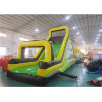 Wholesale Children Inflatable Rock Climbing Wall, Inflatable Obstacles Challenge Games from china suppliers
