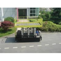 Wholesale Six Mast 12m Self Propelled Aerial Lift 400kg Capacity With Big Platform from china suppliers
