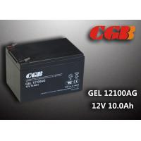 Wholesale ABS Plastic AGM Storage GEL Lead Acid Battery recharge GEL12100AG 12V 10AH from china suppliers