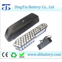 Wholesale 48V 12.8Ah Li-ion Hailong down battery for BBSHD 48V 1000W mid drive motor+Charger from china suppliers