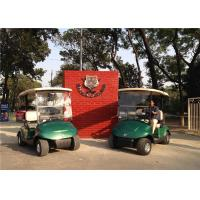 Quality 2 Seater Small Electric Golf Carts For Golf Courses With Brake Control for sale