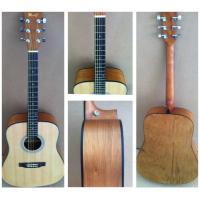 Wholesale OEM Classic Catalpa Western Guitar / Vintage Wood Acoustic Guitar For Learners TP-AG53 from china suppliers