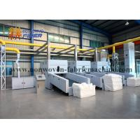 Wholesale One Off Cotton Pad Spunlace Non Woven Fabric Manufacturing Machine 320kg / H Capacity from china suppliers