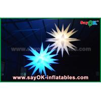 Quality Giant 1.5m LED Star Balloon Inflatable Lighting Decorations For Pub / Bar for sale