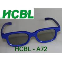 Wholesale Blue ABS Frame Chromadepth 3D TV Glasses With 0.26mm Thicken TAC Polarized Lens from china suppliers