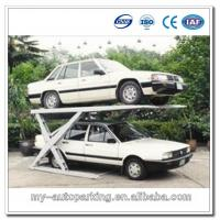 Wholesale Scissor Car Parking Platforms Garage car stacking system from china suppliers