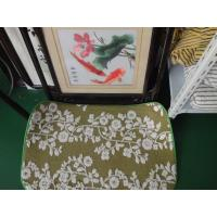 Wholesale Green Flower Printed Microfiber Mat , 40 * 50cm Indoor microfiber bath mat from china suppliers