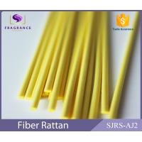 Quality Yellow Straight Synthetic Polyester Reed Diffuser Sticks Scent Diffuser Sticks Smooth for sale