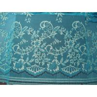 Wholesale Stretchable Flower Nylon Metallic Lace Fabric Green Knitted For Clothing from china suppliers