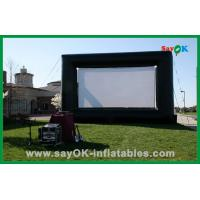 Wholesale Outdoor Hot Selling 4X3M Oxford Cloth And Projection Cloth  Inflatable Movie Screen For Sale from china suppliers