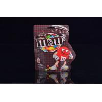 Wholesale Gravure Printing Chocolate Heat Seal Plastic Bags 80micron With Zipper from china suppliers