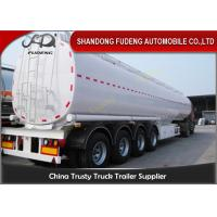 Quality BPW 12 ton axle fuel tanker semi truck trailer air suspension for sale