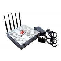 Buy cheap Strong Range Cell Phone Signal Jammer Scrambler Device WIFI 2400mhz - 2500MHz from wholesalers