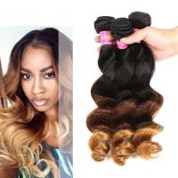 Wholesale Peruvian Loose Wave Ombre Human Hair Extensions 3 Tone Ombre Hair Weave from china suppliers
