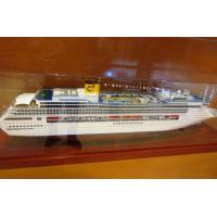 Wholesale Costa Victoria Cruise Ship Plastic Cruise Ship Models With High Simulation , Ivory White from china suppliers