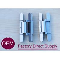 Wholesale Die Casting zamak 2D concealed adjustable rebated door hinges 180 degree from china suppliers