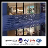 perforated sheet for balcony protection